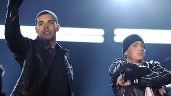 Eminem advierte a Drake sobre lo efímera que puede ser la fama