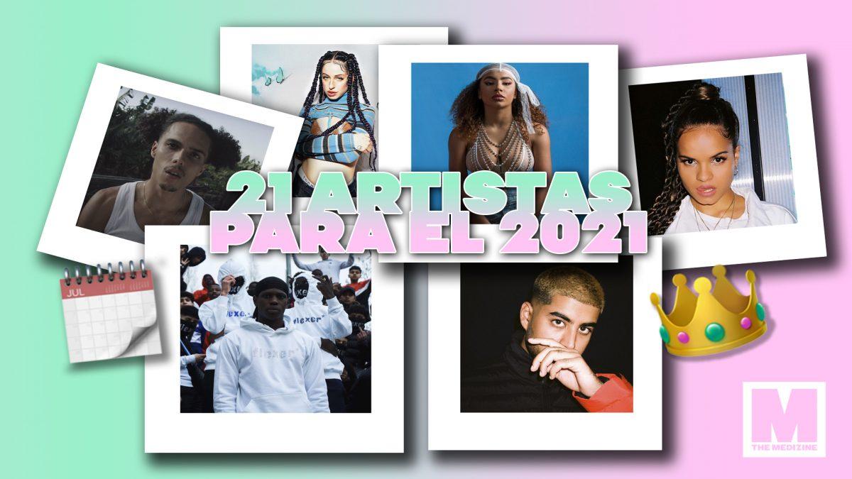 21 artistas de la escena española a tener en cuenta en 2021