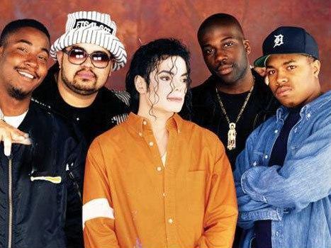 La estrecha relación de Michael Jackson con el rap
