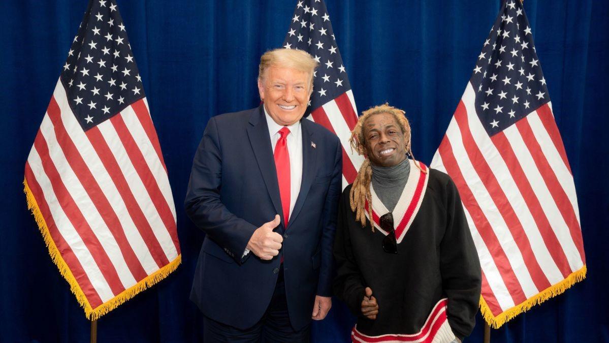 ¿Va a indultar Donald Trump a Lil Wayne y Kodak Black?