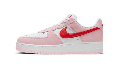 "Nike revela los detalles de las románticas Air Force 1 Low ""Valentine's Day"""