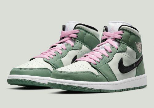 Las Air Jordan 1 se tiñen de rosa y verde: todo sobre las «Dutch Green»