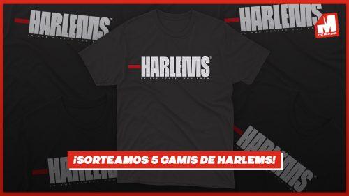 ¡Sorteamos 5 camisetas de HARLEMS junto a Pardoh!