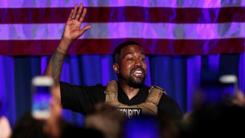Kanye West gastó 12,5 millones de dólares de su dinero en la campaña presidencial