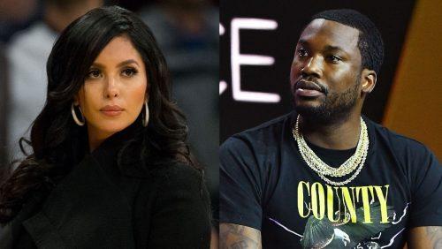 Vanessa Bryant se enfrenta a Meek Mill por faltar al respeto a Kobe Bryant