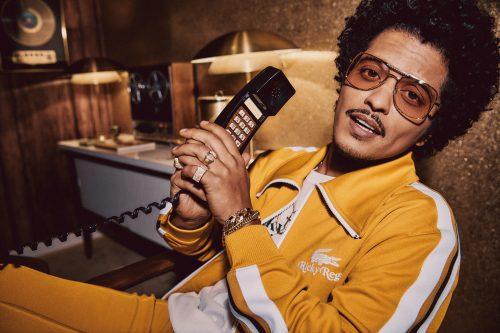 Bruno Mars se convierte en Ricky Regal para su colección con Lacoste