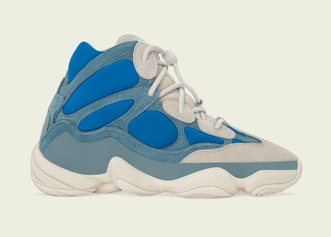 Vuelven las adidas Yeezy 500 High gracias al modelo 'Frosted Blue'