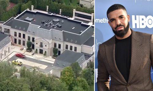 Detienen a una mujer con un cuchillo en la casa de Drake