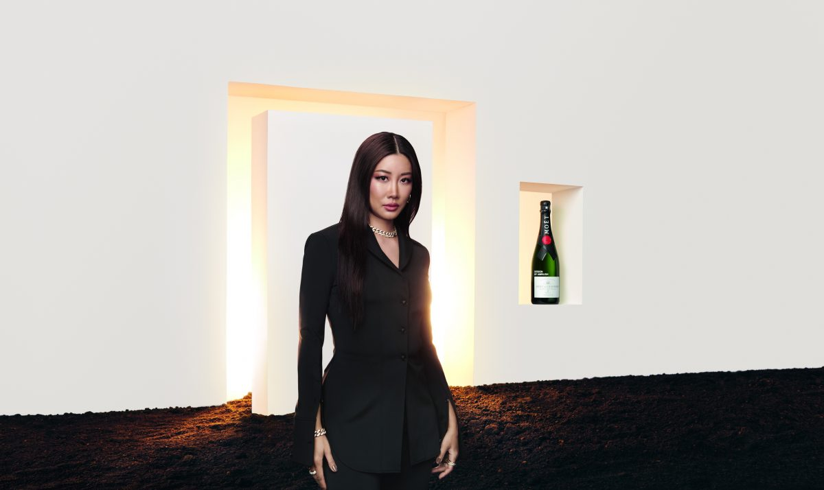 Moët & Chandon x AMBUSH: una edición única entre el champán y el diseño