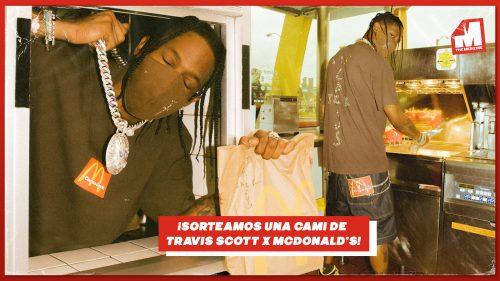 Sorteo Travis Scott: ¡consigue una camiseta Cactus Jack x McDonald's!