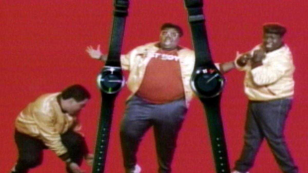 Cuando los Fat Boys introdujeron la marca Swatch en Estados Unidos