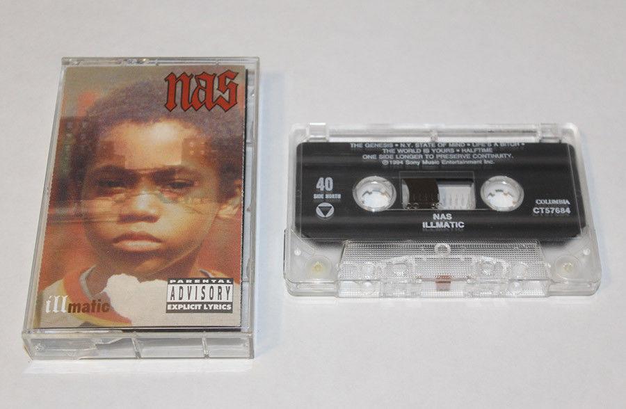 Eminem se gastó 600 dólares en una cinta de cassette de 'Illmatic'