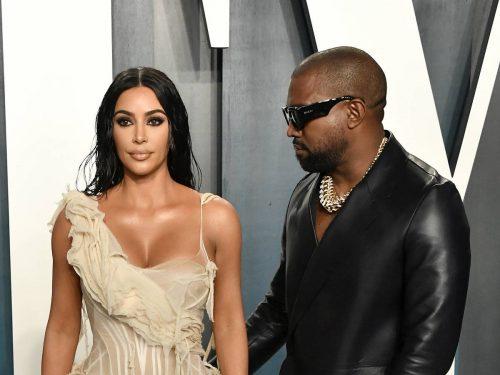 Kanye West responde a la petición de divorcio de Kim Kardashian