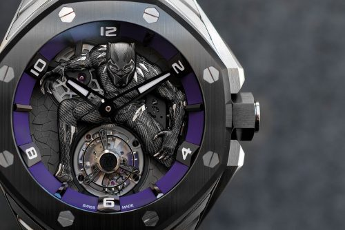 Marvel sacará un reloj de «Black Panther» de casi 200.000 euros