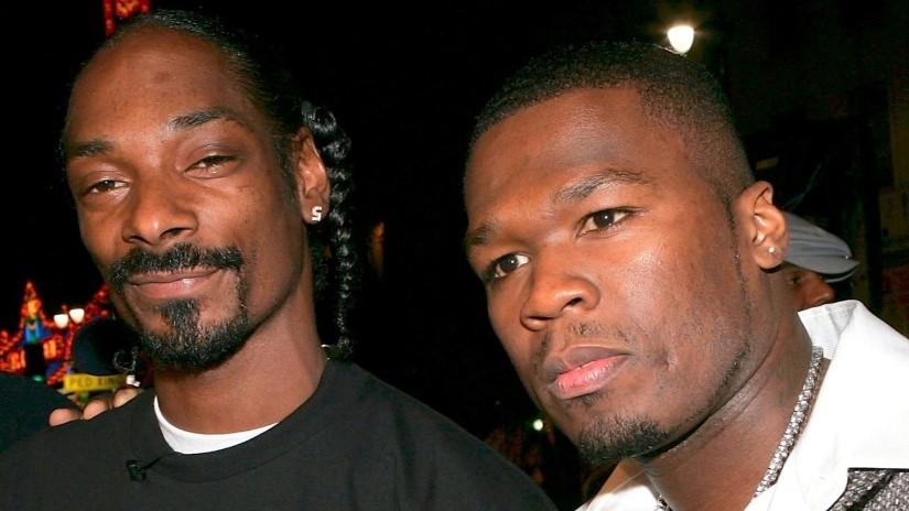 50 Cent prohibió a Snoop Dogg fumar marihuana en el set de «BMF»