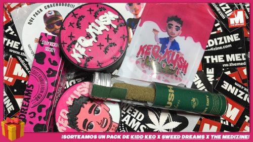 ¡Sorteamos un pack de CBD y productos Keo Kush de la mano de Sweed Dreams!