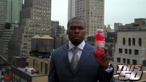 Cuando 50 Cent ganó 100 millones de dólares vendiendo agua
