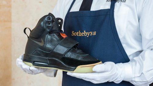 El prototipo Nike Air Yeezy 1 de Kanye West podría venderse por más de 1 millón de dólares