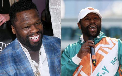 50 Cent vuelve a reírse públicamente de Floyd Mayweather