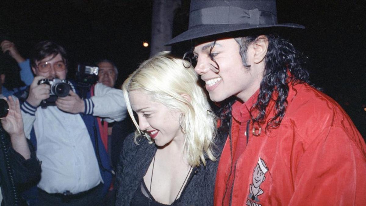 La historia completa de la relación entre Michael Jackson y Madonna