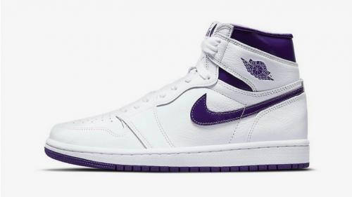 Nike prepara el lanzamiento de las Air Jordan 1 «Court Purple»