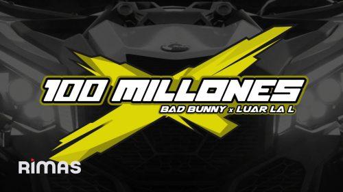 Bad Bunny y Luar La L revolucionan las redes con '100 Millones'