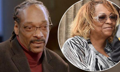 Snoop Dogg pide a todos sus fans que recen por su madre