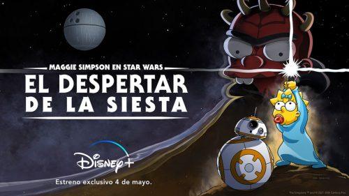 Los Simpson y Star Wars estrenan el crossover definitivo