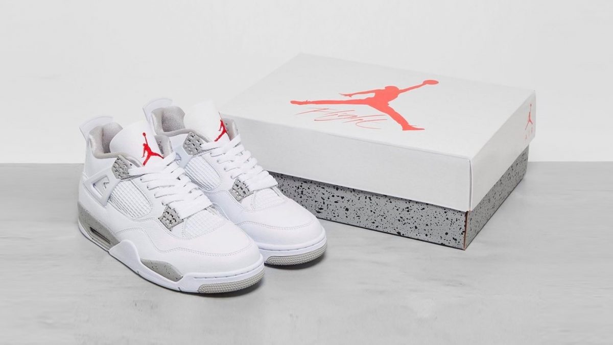 Todos los detalles de las nuevas Air Jordan 4 «White Oreo»