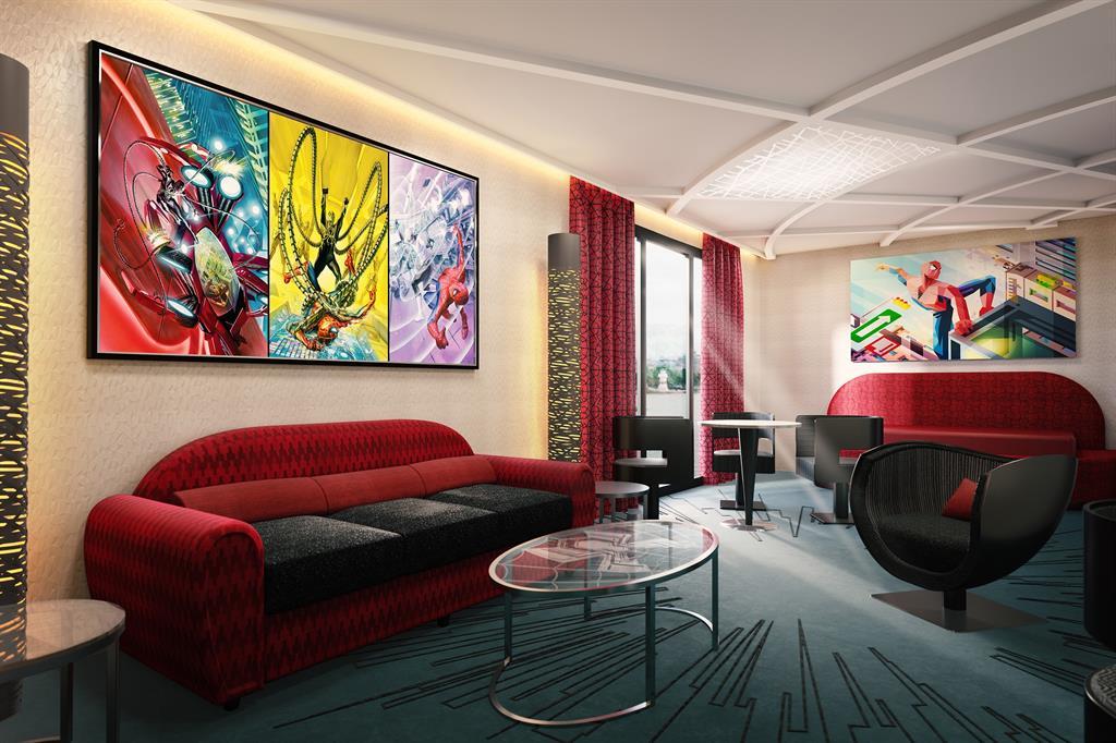 Disney abrirá este mes el primer Hotel Marvel del mundo