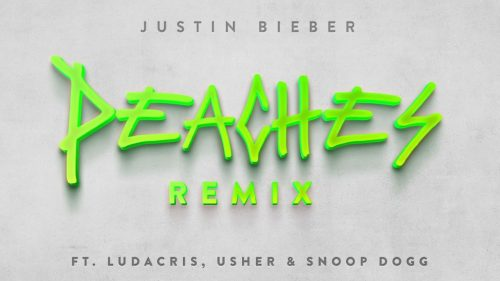 Justin Bieber une a Ludacris, Usher y Snoop Dogg al remix de 'Peaches'