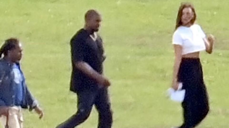 ¿Está saliendo Kanye West con la modelo Irina Shayk?