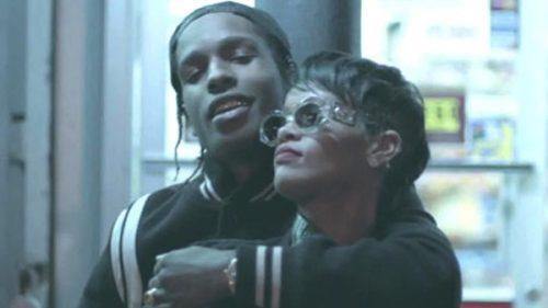 A$AP Rocky y Rihanna se dejan ver grabando un videoclip en Nueva York
