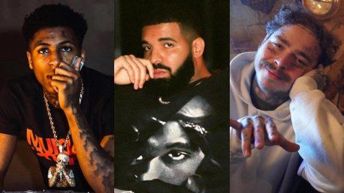 Drake, Post Malone y NBA Youngboy, de los artistas más pagados en 2020