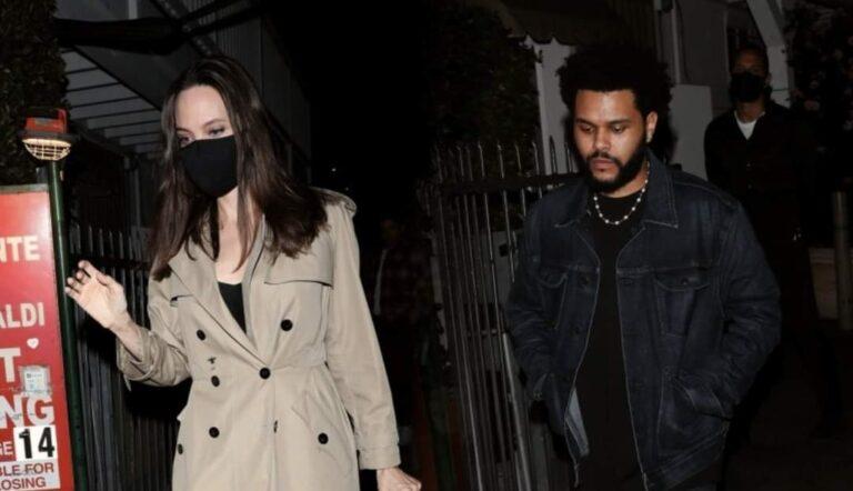 Vuelven a pillar juntos a The Weeknd y Angelina Jolie
