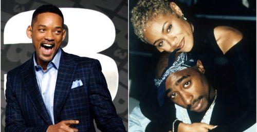 Jada Pinkett pidió a Tupac que no pegara a Will Smith