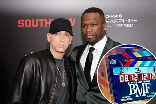 Eminem también actuará en la nueva serie de 50 Cent