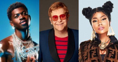 Nicki Minaj, Young Thug y Lil Nas X estarán lo próximo de Elton John