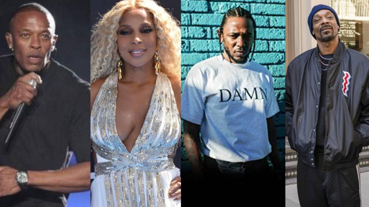Dr. Dre, Snoop Dogg y Kendrick Lamar actuarán en la final de la Superbowl 2022