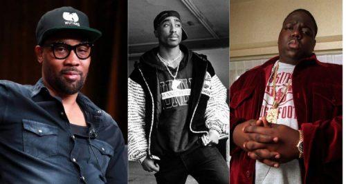 RZA cree que Tupac Shakur era mejor rapper que Biggie Smalls